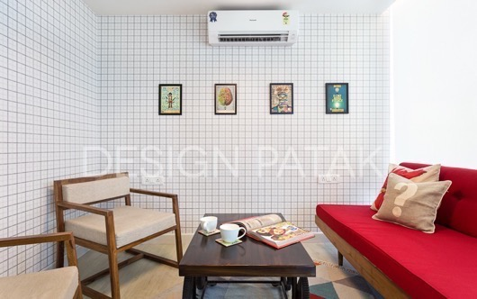 Parallel Minds Office, interior design by Studio Drift. Photography by Kunal Bhatia.