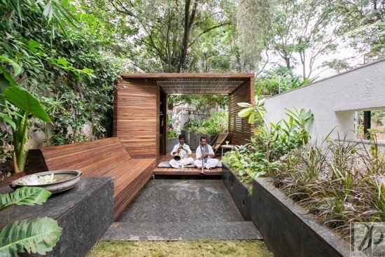 The Tranquil Garden Pavilion by Collective Project