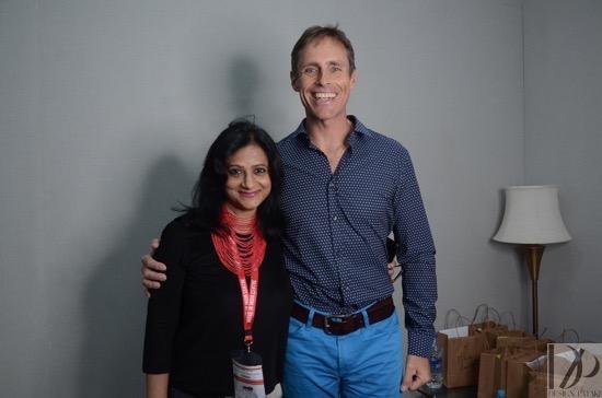 Rajshree Pathy and Uli Gwinner
