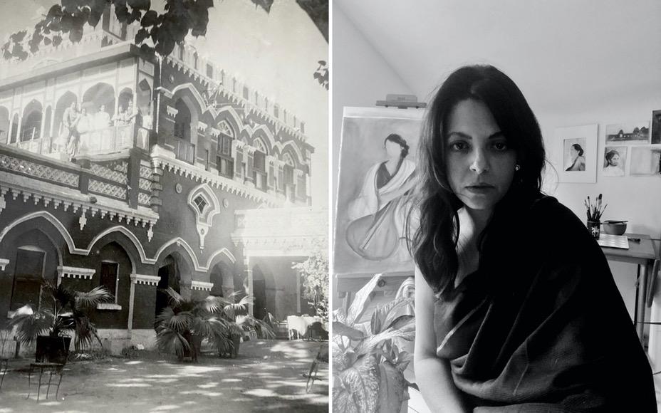Design Pataki Magazine : Identity Through Architecture - How Joya Mukerjee Logue's Ancestral Home Shaped Her Artistic Practice